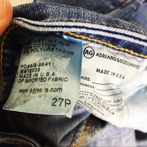Ag Adriano Goldschmied Jeans - AG Adriana Goldschmied The Angelina jeans